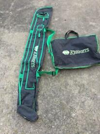 Keenets holdall and net bag