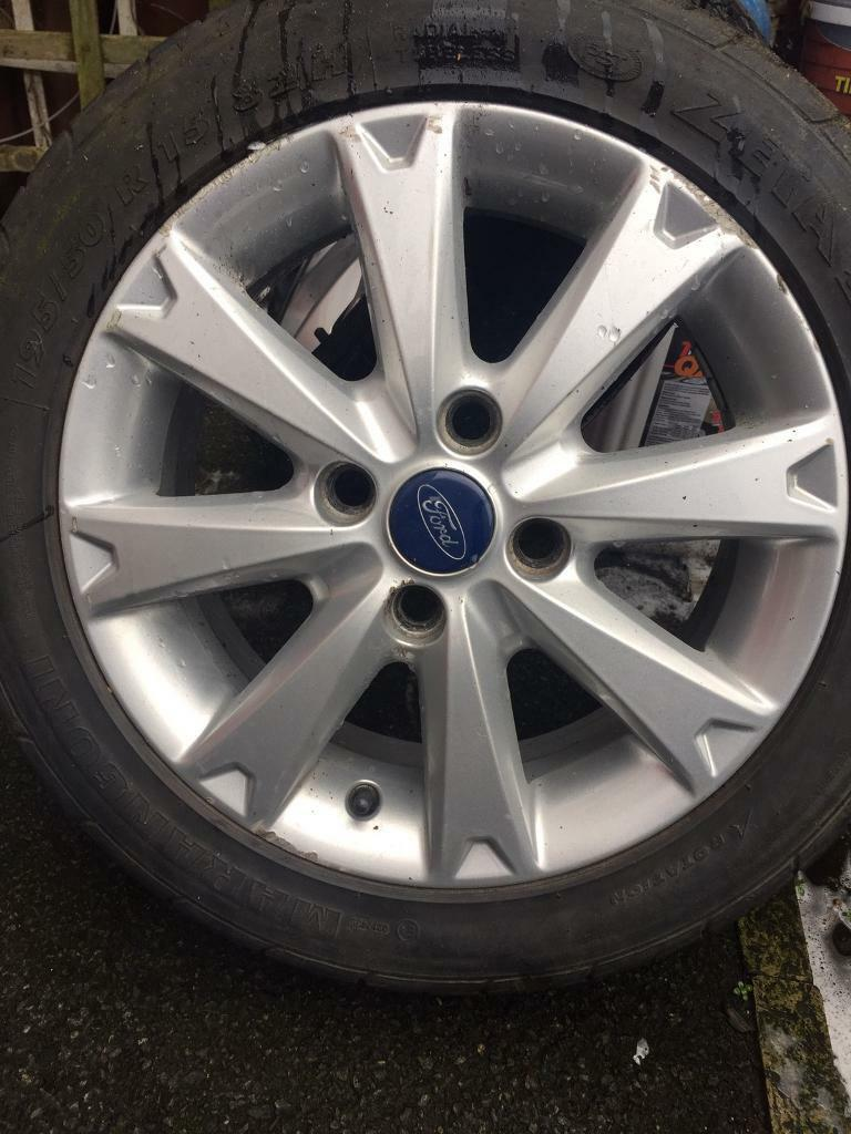 50 Inch Rims : Ford fiesta zetec inch single alloy wheel with
