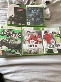 Collection of Xbox 360 games