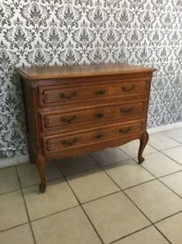 Chest of drawers Oak Louis XV,French style,