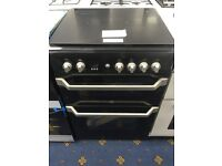 New Ex-Display INDESIT ID60G2K 60 cm Gas Cooker - Black - £299