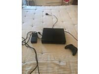 X BOX ONE with remote IMMACULATE condition rarely used in BLACK.