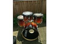 Tama Rockstar Drum Kit (incomplete) plus Protection Racket Cases