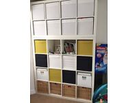 Ikea kallax(expedit) 4x4 and branas for extra price
