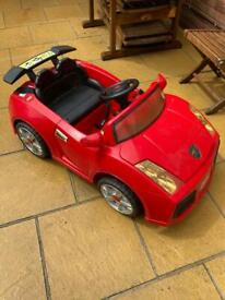 Child electric Two seater drive on car.