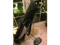 Golfing set - clubs, bag and trolley, BARGAIN!