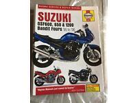 Suzuki Bandit Haynes service and repair manual