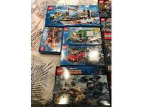 Variety of unopened Lego