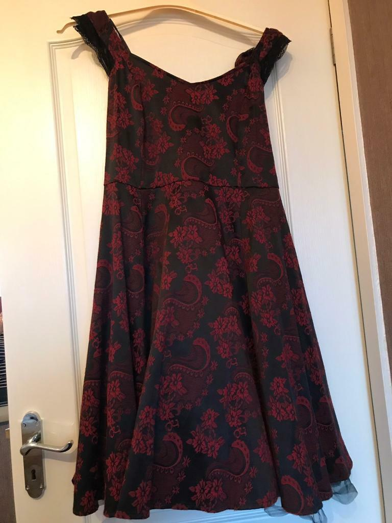 e038ebd38168a Ladies Joe Browns 1950s Style Dress. Red & Black Size 16 | in ...