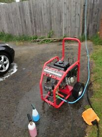 Kiam warrior 3700p petrol pressure washer