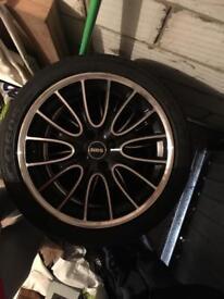 Mini Cooper JCW 17 inch alloy wheels