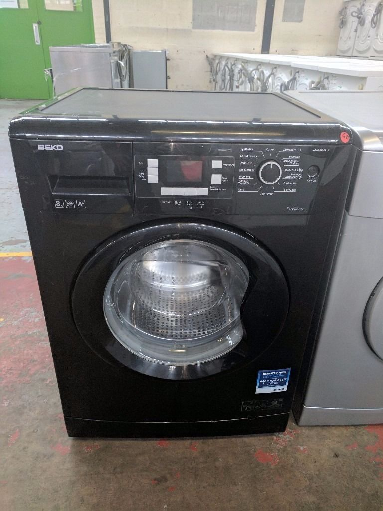 Beko Washing Machine (7kg6 Month Warrantyin Liverpool City Centre, MerseysideGumtree - Black Beko Washing Machine (7kg, 1400 spin,) (latest model.) Factory Refurbished. Excellent Condition 6 Month Warranty Free Local Delivery Removal Of Old Appliance Many Makes and Models Liverpool Appliances 25 County Road Walton L4 3QA