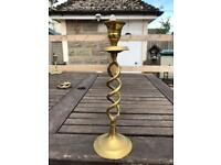 Nice brass candle holder