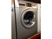 BEKO 7KG 1600 SPIN SILVER WASHING MACHINE RECONDITIONED
