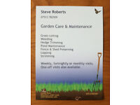 Garden Care & Maintenance