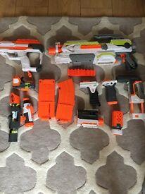 Nerf gun with parts