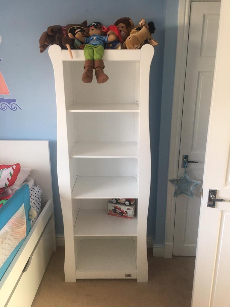 White Vib Baby Nursery Bookcase In East Renfrewshire Gumtree