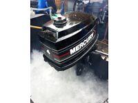OUTBOARD ENGINE MERCURY 4HP SHORTSHAFT AS NEW