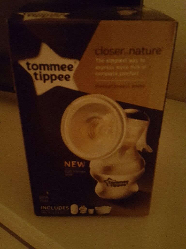 Tommee tippee manual breast pump never been used