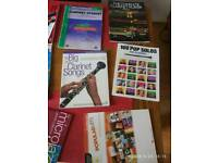 Clarinet Books with soft case