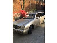 Mercedes e class w210 elegance auto estate 7 seater
