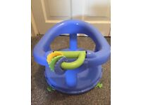 Sit in baby bath seat