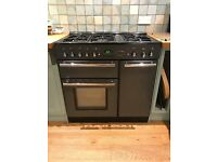 RangeMaster Toledo 90 dual fuel oven (dark grey) in excellent condition