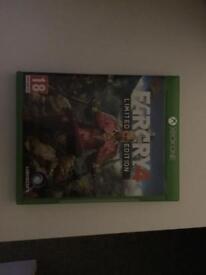 Far cry 4 limited edition Xbox one