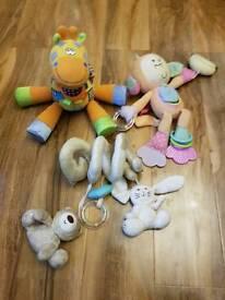 Baby toys bundle 0+