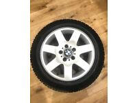 BMW Alloys with Continental Winter Tyres