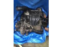 VOLKSWAGEN FOX 1.2 COMPLETE TIMING CHAIN ENGINE AND GEARBOX 89K MILES
