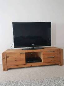 TV Unit - Solid Oak