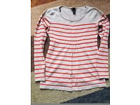 Maternity long sleeve top. Size small, H&M