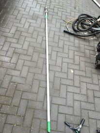 window cleaning 24ft 4 pieces ext pole