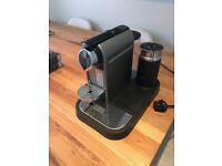 Nespresso Coffee Machine with extras