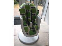 Cosatto 3 sixti high chair Green Apple