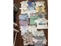 Boys clothes bundle 0,3,3,6 month