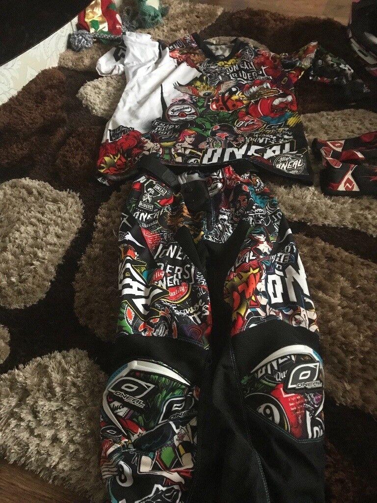 O'Neil motorbike gear
