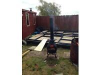 Multi fuel burner / chiminea