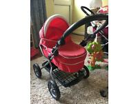 Silver cross dolly pram buggy toy