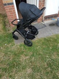 UppaBaby buggy and car seat