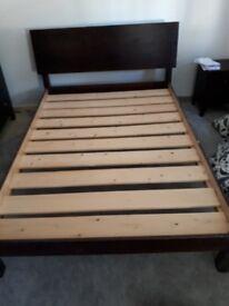 Warren Evans double bed frame