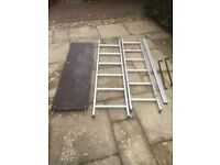 Lyte mini aluminium work platform, ladder.,
