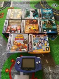 Game Boy Advance (GBA) and games