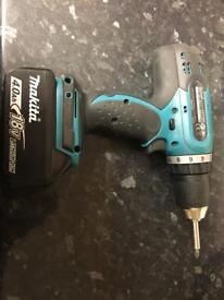18v Makita Drill. 4.0ah battery. £95 Or Near.