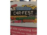 Carfest north 29th July tickets