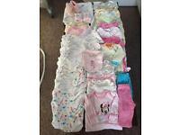 Massive bundle baby girl clothes 0-3 months