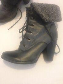 Ladies boots & heels + handbags
