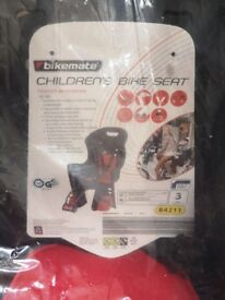 Brand New Child's Bike Seat