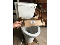 Wc Complete Toilet Unit with Cistern and Fittings